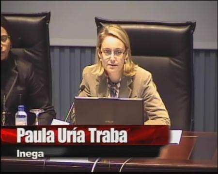 Paula Uría Traba. Jefa de Area de ahorro e eficiencia enerxética do INEGA - Aforro e eficiencia enerxética